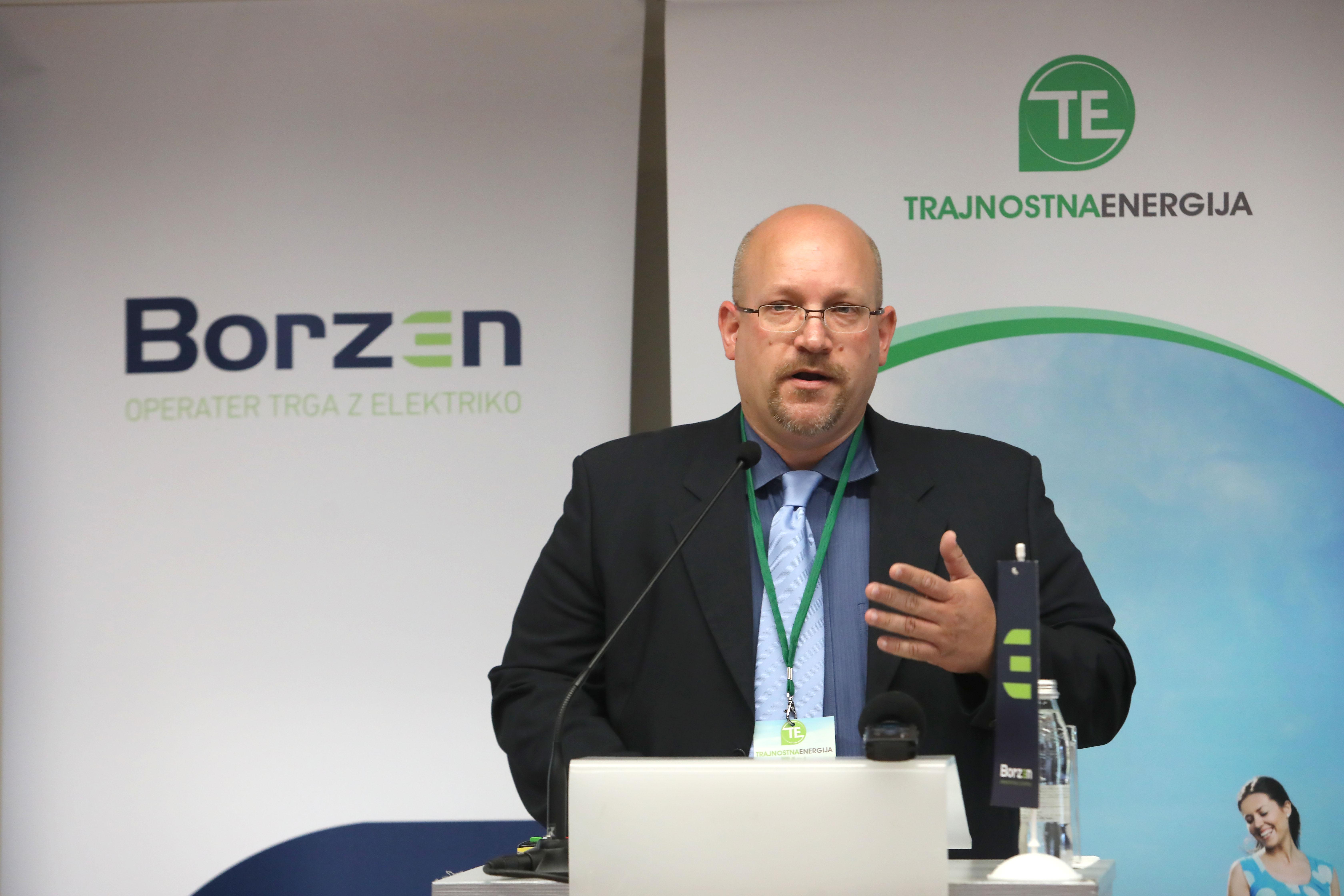 Borut Rajer, Borzen, konferenca Trajnostna energija lokalno